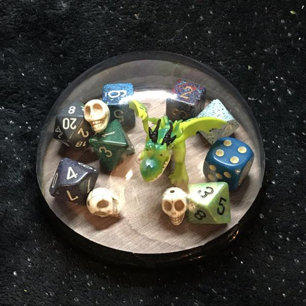 Dice Hoarder Green