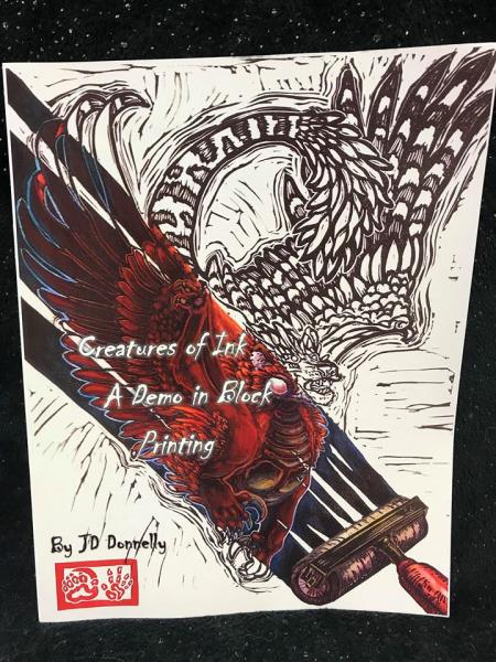 Creatures of Ink: A Demo In Block Printing