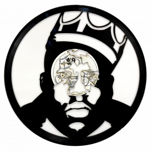Biggie Vinyl Record Art