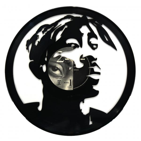 2Pac Vinyl Record Art