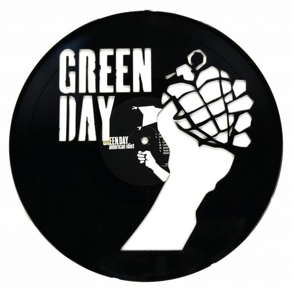 Green Day Vinyl Record Art