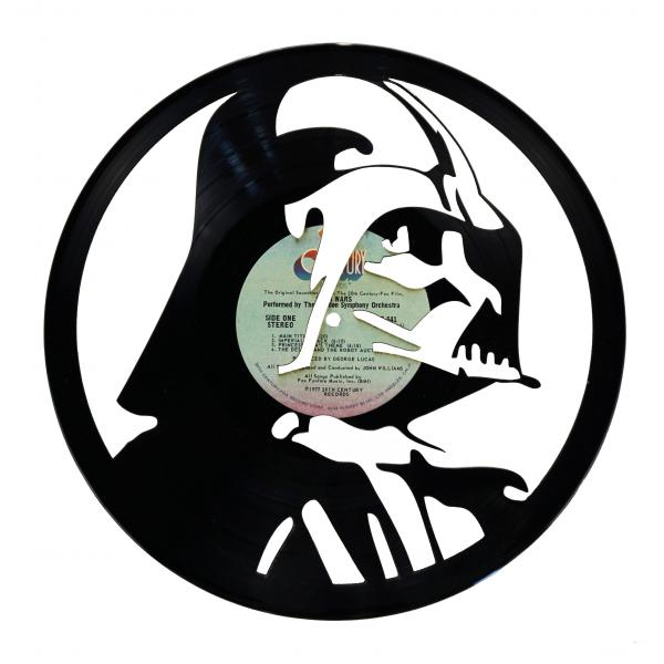 Darth Vader Vinyl Record Art