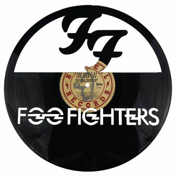 Foo Fighters Vinyl Record Art