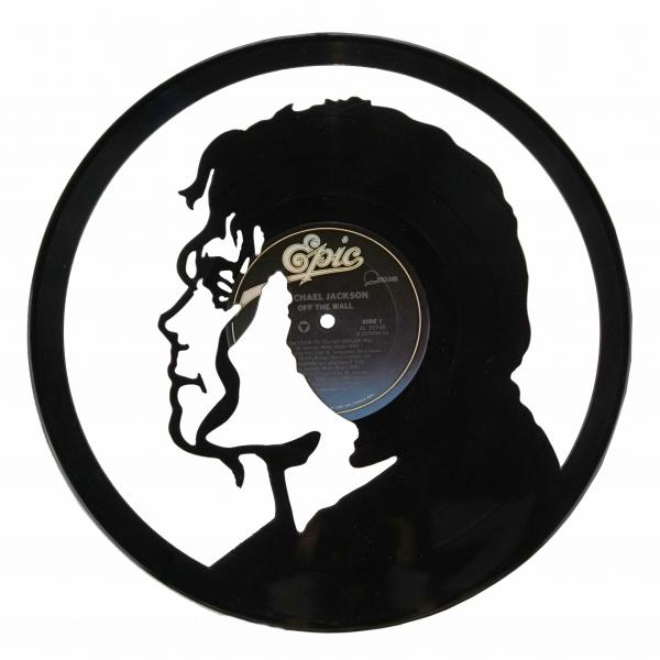 Michael Jackson Vinyl Record Art