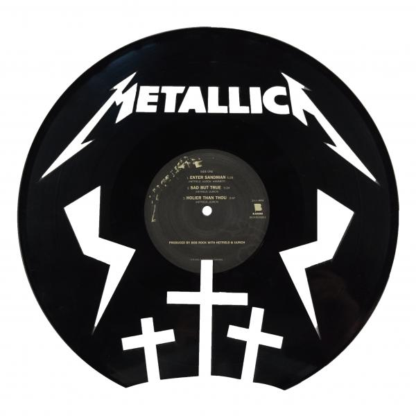 Metallica Vinyl Record Art