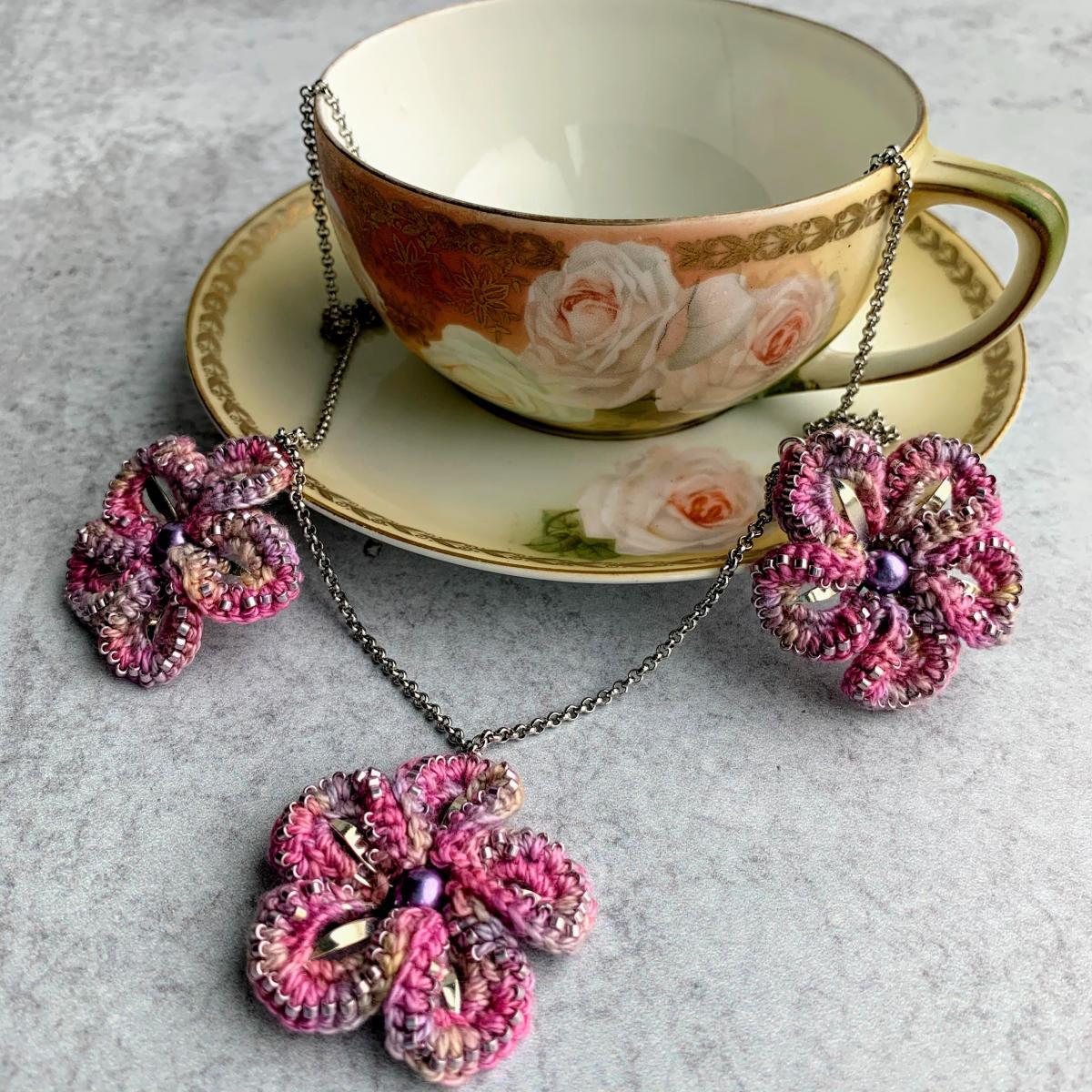 Hand Dyed Cotton Embellishment Thread
