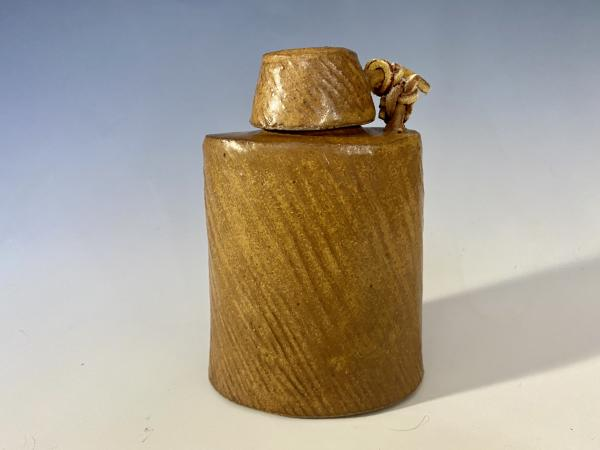Flask with Corked Lid