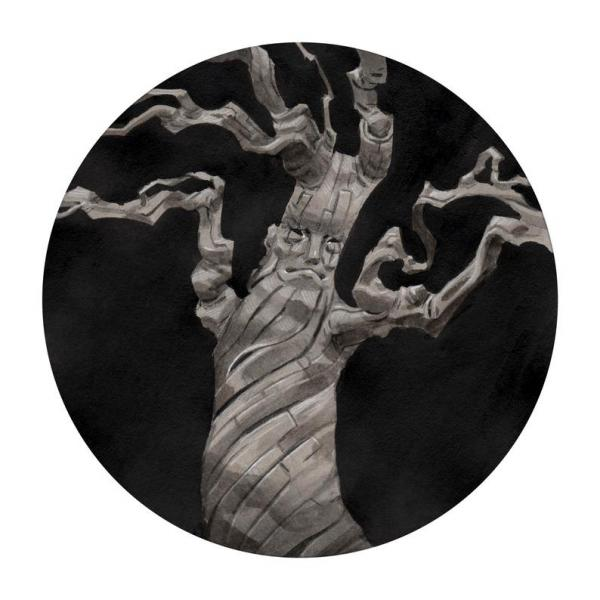 Tree Spirit: An Uncanny Forest Ent Painting