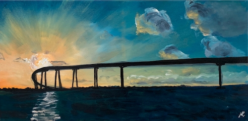 Coronado Bridge - Limited Edition Giclee