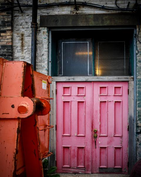 Pink Door in Milwaukee