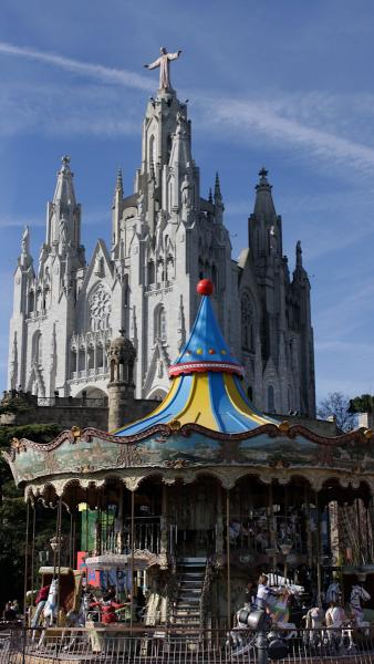 Carousel and Cathedral