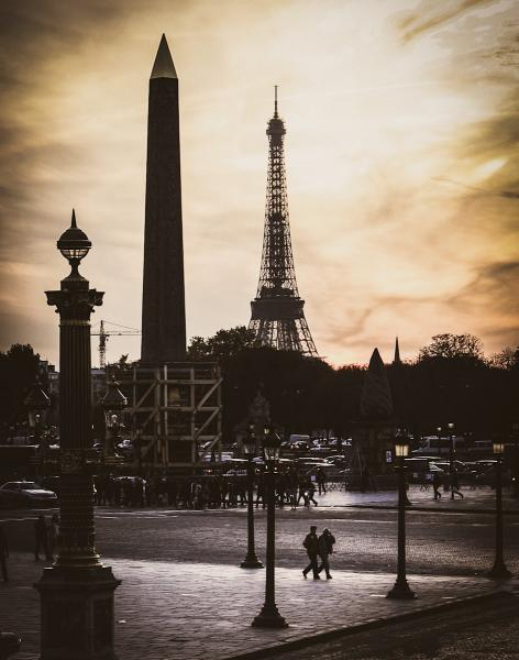 Obelisk and Eiffel