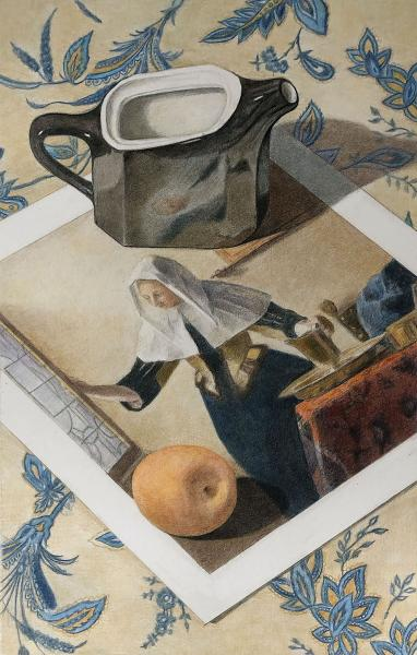 Black Pitcher with Vermeer