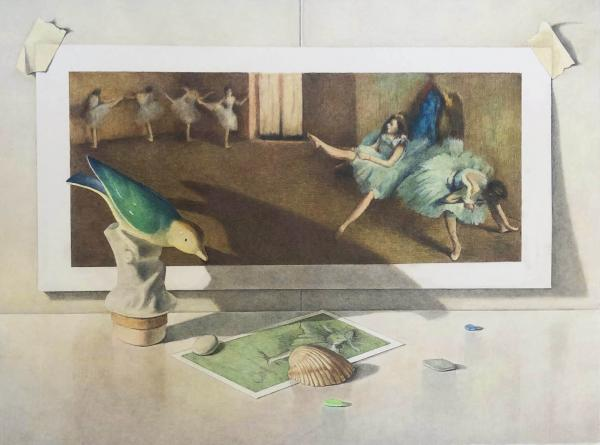 Birds and Shells with Degas picture