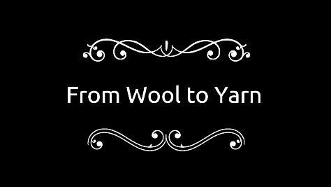 Wool to Yarn Video