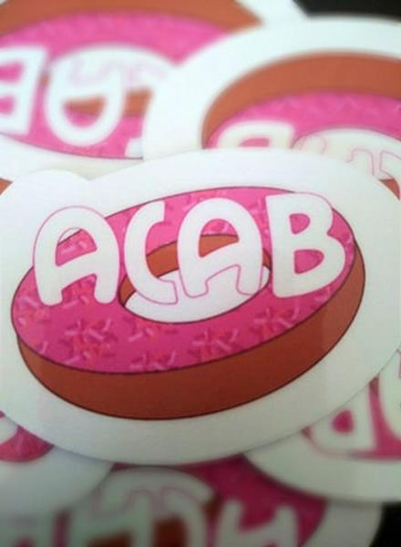 ACAB 1312 Donut Sticker