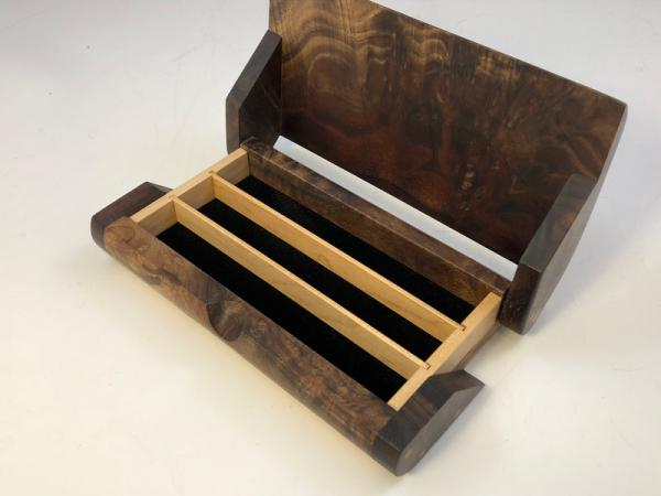 Walnut Burl BX-03 Pen Box