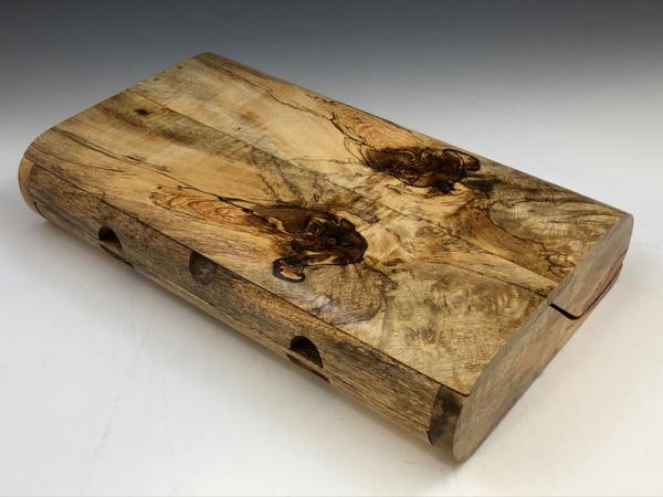Spalted Mango BX-18.2, 24-Pen Box picture