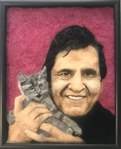 Cash 'n Kitty (Johnny Cash) picture