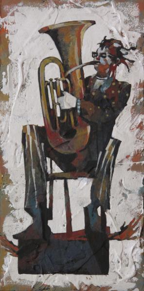 """First Chair""  original painting"