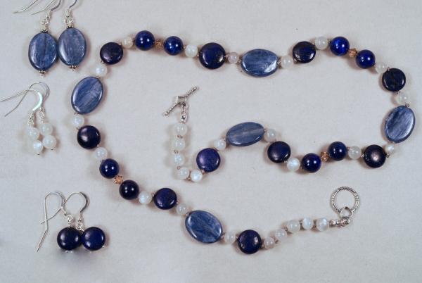 Lapis Lazuli and Kyanite Necklace