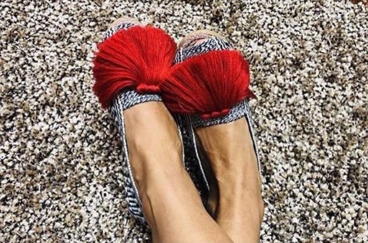 Red Basic Espadrille