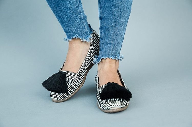 Black Basic Espadrille