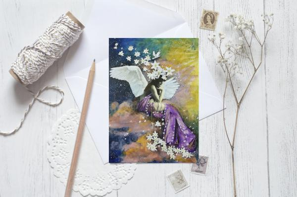 Heavenly Greeting Card