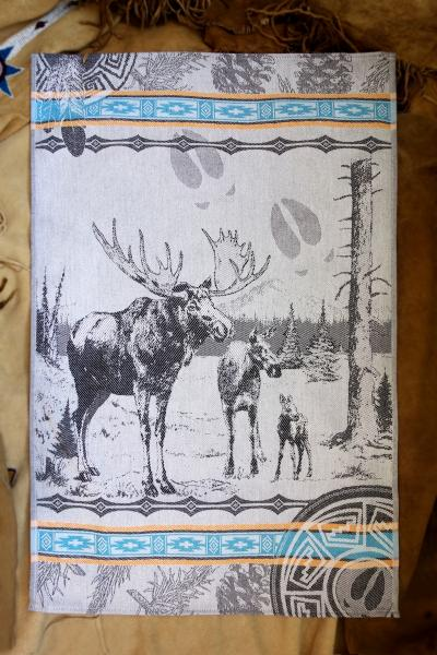 Moose Jacquard Tea Towel / Wall Art
