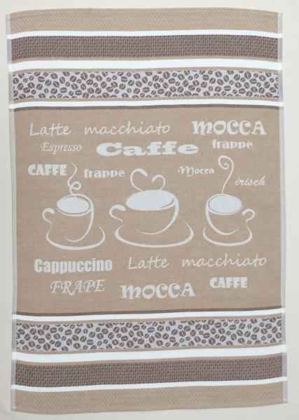 Coffee Jacquard Tea Towel / Wall Art