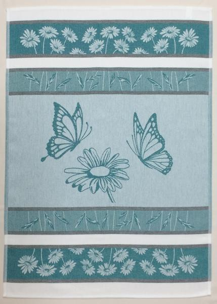 Daisy Jacquard Tea Towel