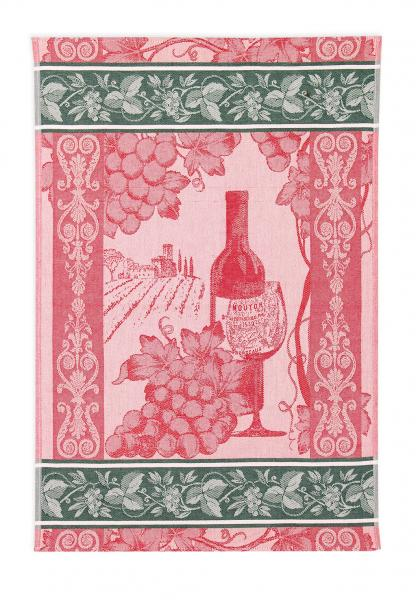 Wine Jacquard Tea Towel / Wall Art