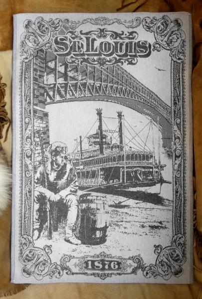 St Louis Jacquard Tea Towel / Wall Art