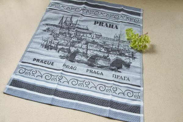 Prague Jacquard Tea Towel
