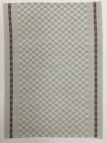 Checkerboard Jacquard Tea Towel