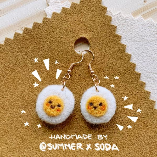 Happy Boiled Eggs earrings