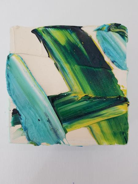 Multiple Carrie Smith  Kilgore Abstract Paintings