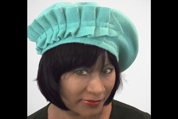 Turquoise Couture | Beret