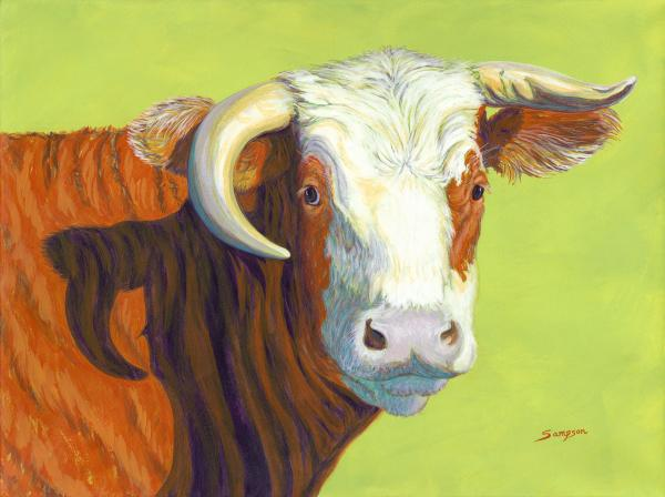 Nellie, Hereford Cow