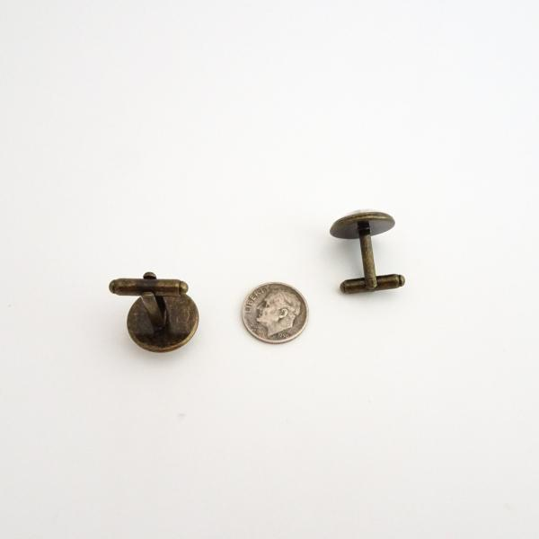 Typewriter Cufflinks | Reproduction Type Writer Key Cuff Links picture