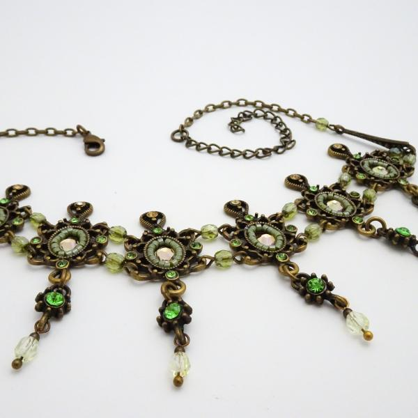 Titanic Choker | Victorian Steampunk Necklace | Czech Glass and Swarovski Crystals