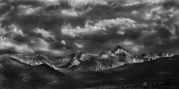 """Terra Lucis, CO"" 25x50 Gallery Presentation picture"