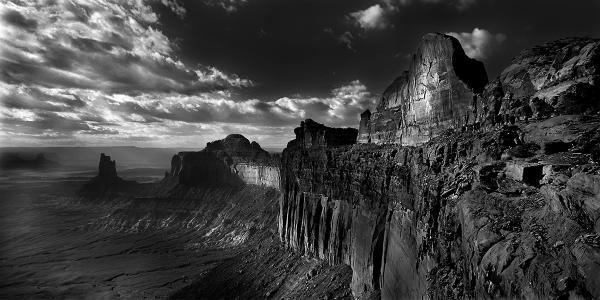 """Storm over Canyonlands, UT"" 25x50 Gallery Presentation"