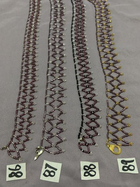 Bead Weaved Necklaces picture