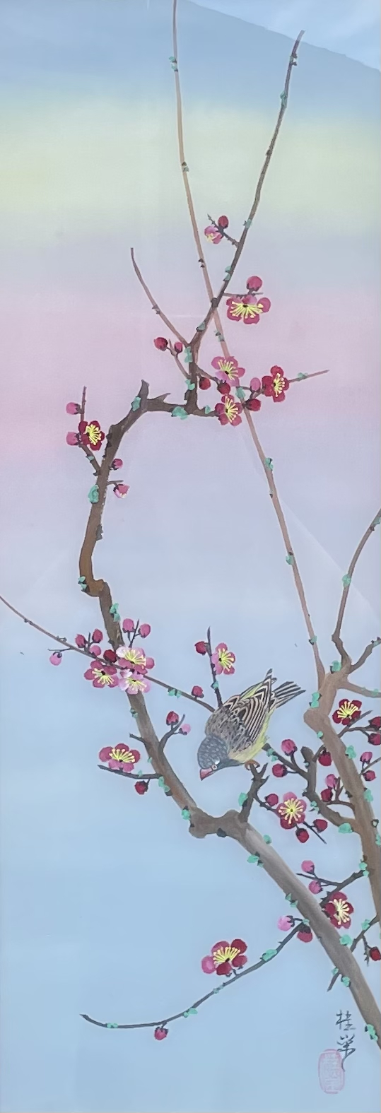 Bird on Plum Blossoms