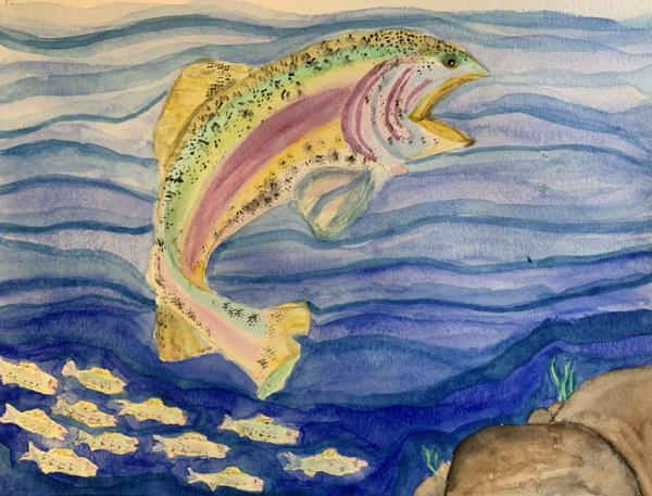 """Rainbow Fish"" by Nina L"