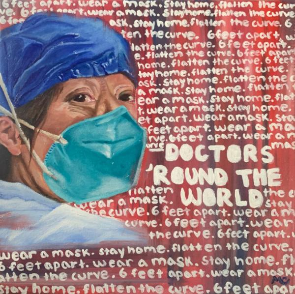 """Doctors 'Round the World"" by Martina M"