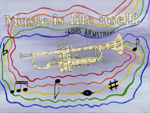 """Music Is Life Itself"" by Sarah S"