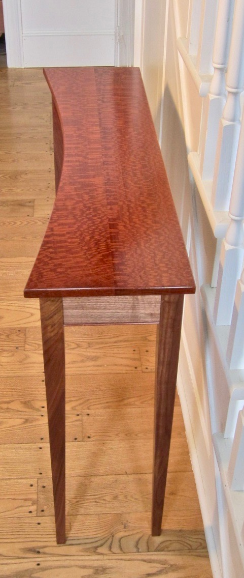 Lacewood Concave Foyer/Sofa table picture