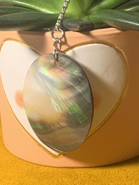 Abalone Chain Necklace